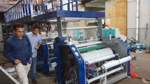 6.4 Three Layer Co-Extrusion Stretch Film Machine