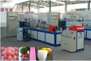 4.7 EPE Physical Foamed Net Production Line